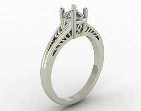 Solitaire Ring solitaire 3D printable model