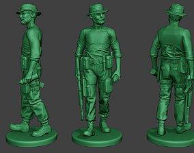 3D printable model Modern Jungle Soldier Walk6 MJS1