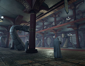 Dragons Great Hall 3D asset