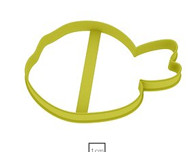 3D print model Turtle ninja cookie cutter for professional