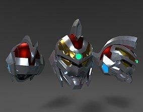 SSS Gridman helmet printable
