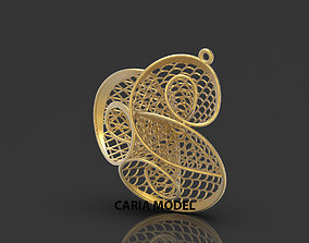 Ultra Fusion Pendant STL 3d model for 3d printing 064
