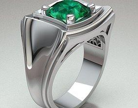 ringman sapphire 3D print model Ring Man