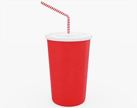 Drink Cup 3D model VR / AR ready