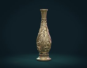 Scrollwork vase 3D printable model