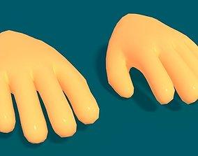 3D model Toon Hand