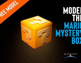 Mario Mystery Box 3D asset