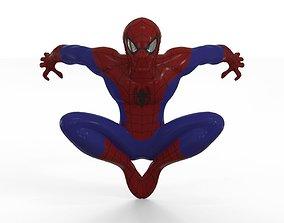 Spiderman 3D printable model comic