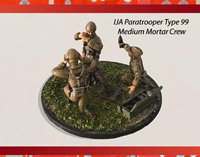 Type 99 28mm IJA Medium Mortar 3D print model