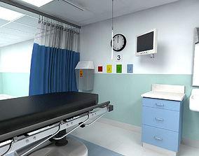 3D model Shock ICU Room