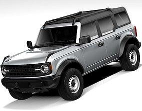 3D Ford Bronco Base 4door 2021