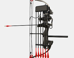 3D model Low Poly Hunting and Archery Bow