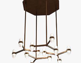 San Pietro Pendant Light by Jiun Ho 3D