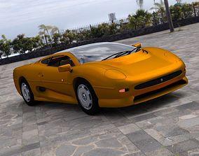Jaguar XJ 220 for DAZ Studio 3D