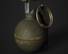 M67 Grenade 3D asset realtime