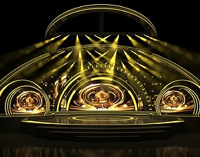 concert stage 02 design 3D model