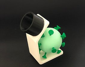 Microscope for pedagogical use 3D print model