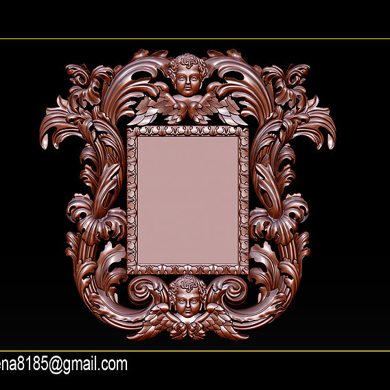 Collection Mirrors classical carved frame