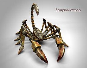 scorpion lowpoly 3D model