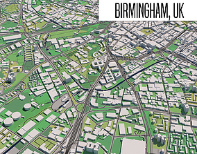 3D model Birmingham UK