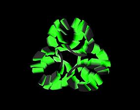 SciFi Sign 3D asset
