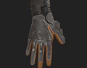 Scifi Gloves ver2 3D model