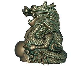 3D printable model Zodiac Dragon
