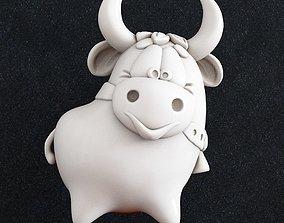 3D printable model Bull toon