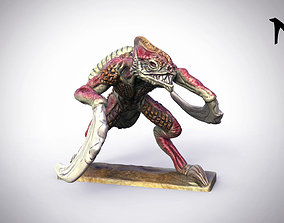 3D print model Bladed Raptor 32mm Miniature 28mm heroic
