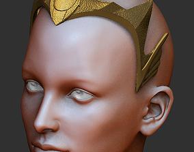 3D print model Aquaman - Mera crown head piece