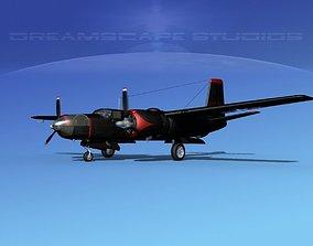 3D Douglas B-26C Invader V01 USAF Korea