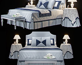 3D model Furniture AVALON Classic Bellagio HALLEY