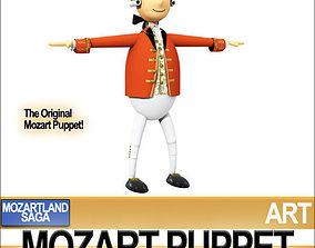 3D model Mozart Puppet