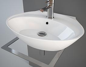 fixture 3D model Simas BO11 wash-basin