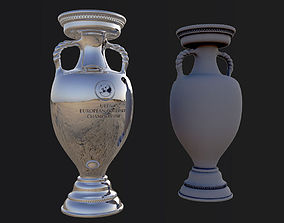 Euro cup 2016 France 3D model