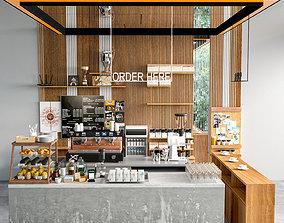 cafe 3D Coffee Shop 2