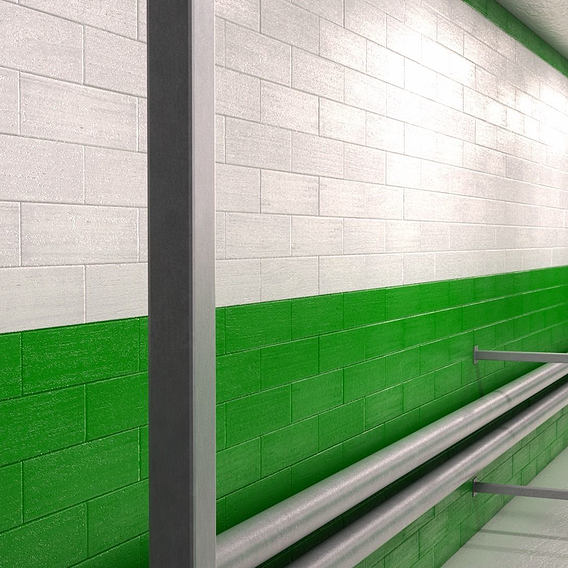 Mirrors edge wall