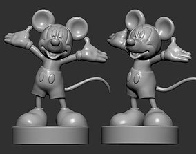 Mickey Mouse 3D print model