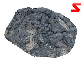 Lava Rock scan 3D model