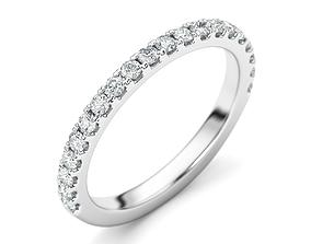 platinum Wedding Ring 3D print model