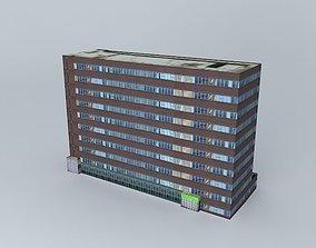 Crown House, Huddersfield 3D model