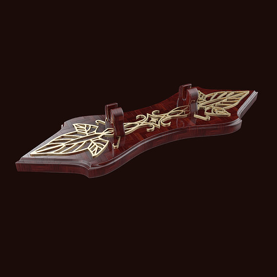 Arwen Sword and Holder - Hadhafang - Lord of the Rings 3D print model