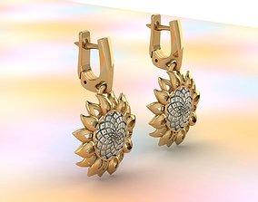 sunflowers 3D printable model