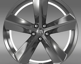 3D model Dodge Challenger SRT8 rim
