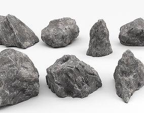 3D model Rock asset pack