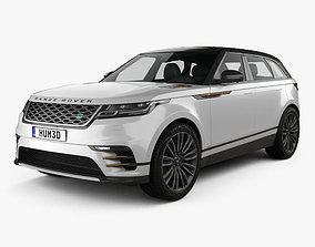 3D model Land Rover Range Rover Velar 2018