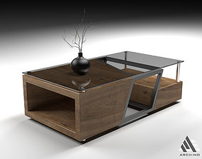 Coffee table 02- furniture 3D asset