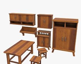3D furniture set game