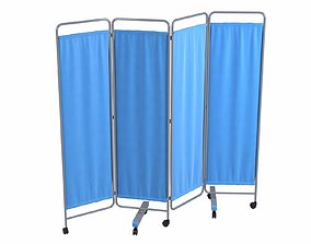 Movable Curtain 3D model