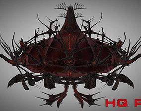 3D model Alien Space Station